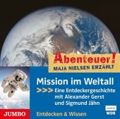 Mission im Weltall, 1 Audio-CD Cover