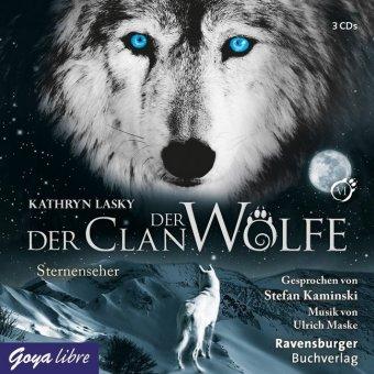 Der Clan der Wölfe - Sternenseher, 3 Audio-CDs