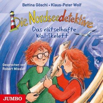 Cover des Mediums: Die Nordseedetektive 03: Das rätselhafte Wal-Skelett