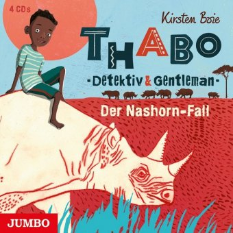 Thabo - Detektiv & Gentleman - Der Nashorn-Fall, 4 Audio-CDs