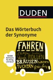 Duden - Das Wörterbuch der Synonyme Cover