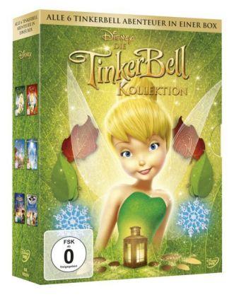Die Tinkerbell Kollektion, 6 DVDs