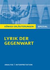 Lyrik der Gegenwart Cover