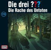 Die drei ??? - Die Rache des Untoten, 1 Audio-CD Cover