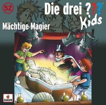 Die drei ??? Kids - Mächtige Magier, 1 Audio-CD