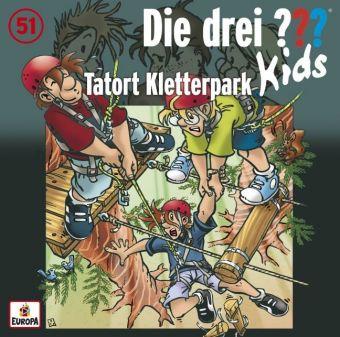 Die drei ??? Kids - Tatort Kletterpark, Audio-CD
