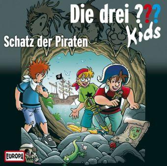 Die drei ??? Kids - Schatz der Piraten, Audio-CD