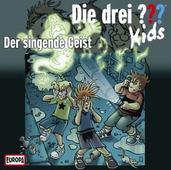 Die drei ??? Kids - Der singende Geist, Audio-CD