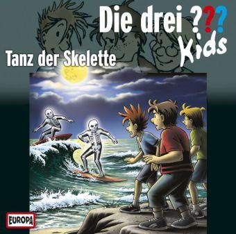 Die drei ??? Kids - Tanz der Skelette, Audio-CD