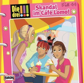 Die drei !!! - Skandal im Café Lomo!, 1 Audio-CD