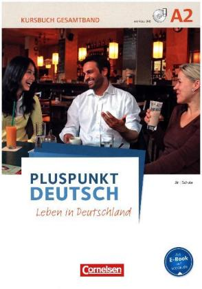 Kursbuch mit Video-DVD + Arbeitsbuch mit Audio-CD (Gesamtband), 2 Tle.