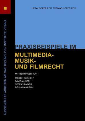 Praxisbeispiele im Multimedia-, Musik- und Filmrecht