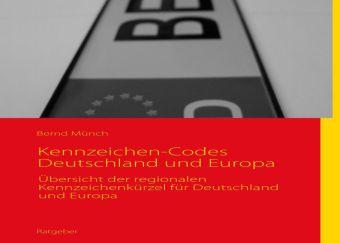 Autokennzeichen-Codes Deutschland und Europa