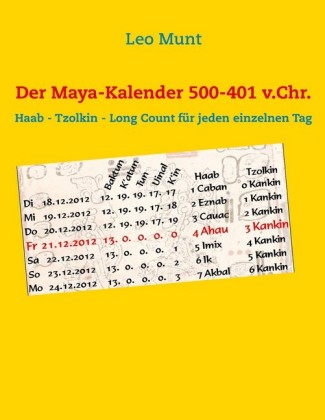 Der Maya-Kalender 500-401 v.Chr.