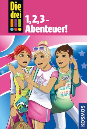 Die drei !!! - 1,2,3 Abenteuer, m. Audio-CD