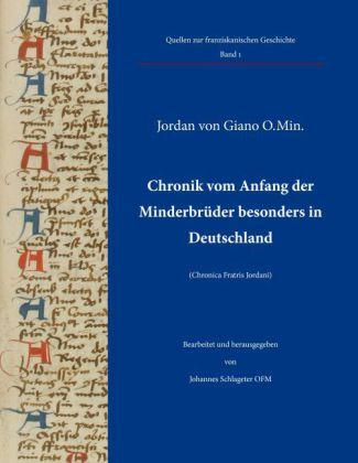 Chronik vom Anfang der Minderbrüder besonders in Deutschland