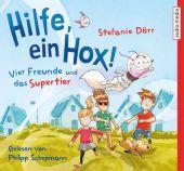 Hilfe, ein Hox! Vier Freunde und das Supertier, 3 Audio-CDs