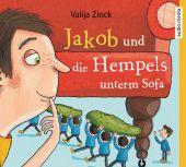 Jakob und die Hempels unterm Sofa, 3 Audio-CDs