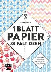 1 Blatt Papier - 33 Faltideen Cover