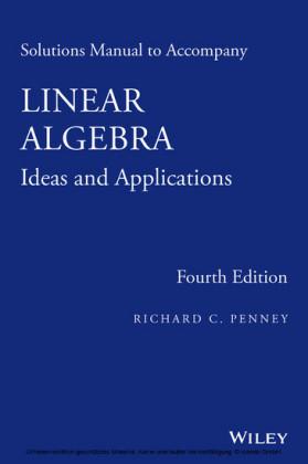 Solutions Manual to Accompany Linear Algebra,