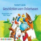 Geschichten vom Osterhasen, 1 Audio-CD Cover