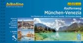 Bikeline Radtourenbuch Radfernweg München-Venezia Cover