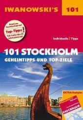 Iwanowski's 101 Stockholm - Reiseführer, m. 1 Karte Cover