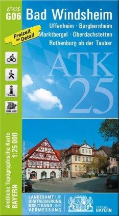 Amtliche Topographische Karte Bayern Bad Windsheim