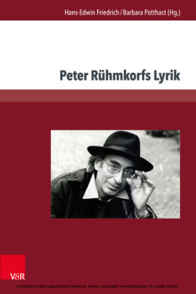 Peter Rühmkorfs Lyrik