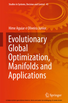 Evolutionary Global Optimization, Manifolds and Applications