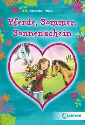 Pferde, Sommer, Sonnenschein