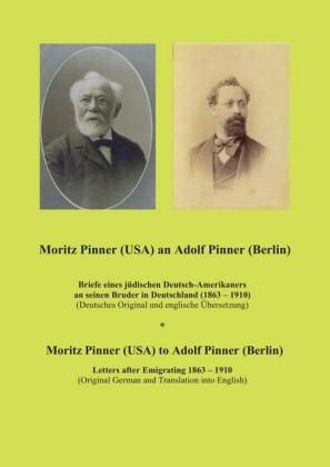 Moritz Pinner (USA) an Adolf Pinner (Berlin)