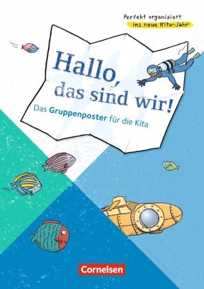 Hallo, das sind wir! - Das Gruppenposter für die Kita (Poster)