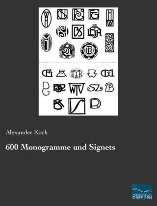 600 Monogramme und Signets
