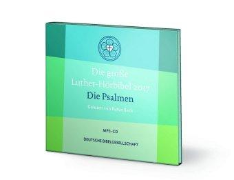 Die große Luther-Hörbibel 2017 - Die Psalmen, 1 MP3-CD