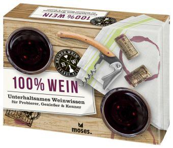 100% Wein, m. Poster