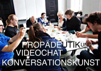 Propädeutik und Videochat zur Konversationskunst