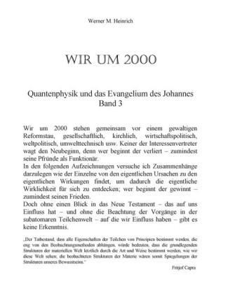Wir um 2000 - Band 3