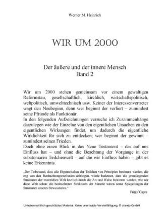Wir um 2000 - Band 2
