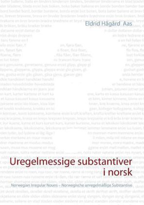 Uregelmessige substantiver i norsk
