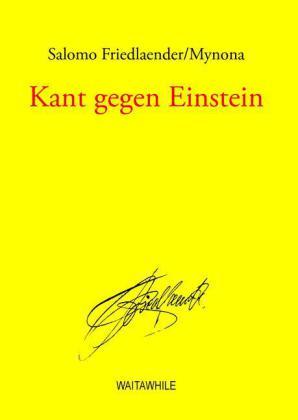 Kant gegen Einstein
