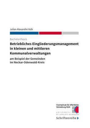 Betriebliches Eingliederungsmanagement in kleinen und mittleren Kommunalverwaltungen