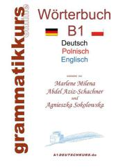 Wörterbuch Deutsch - Polnisch - Englisch Niveau B1