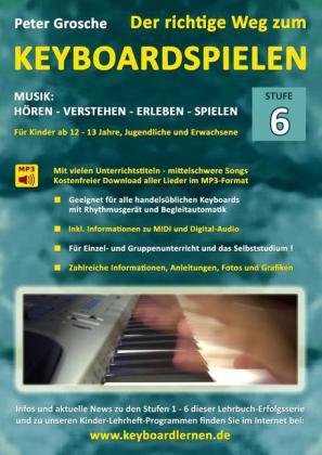 Der richtige Weg zum Keyboardspielen (Stufe 6)