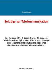 Beiträge zur Telekommunikation
