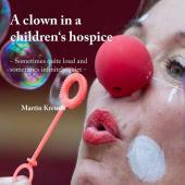 A clown in a children's hospice