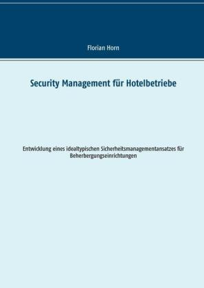 Security Management für Hotelbetriebe