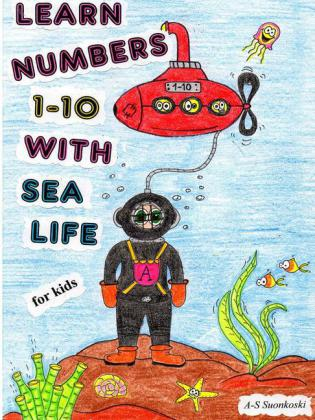 Learn numbers 1-10 with sea life - for Kids