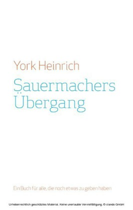 Sauermachers Übergang