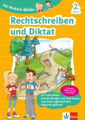 Die Deutsch-Helden - Rechtschreiben und Diktat 2. Klasse Cover